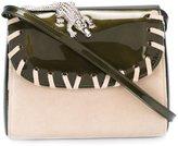 Amélie Pichard 'Abag' shoulder bag - women - Suede/Plastic - One Size