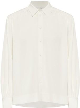 Co Stretch-crApe blouse