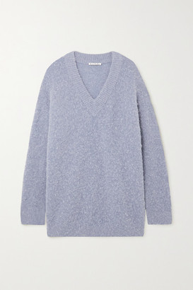 Acne Studios Oversized Knitted Sweater - Blue