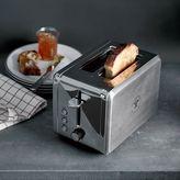 west elm Williams Sonoma Open Kitchen 2-Slice Stainless Steel Toaster