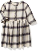 Old Navy Plaid Fit & Flare Dress for Baby