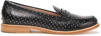 Tod's Studded Leather Loafers