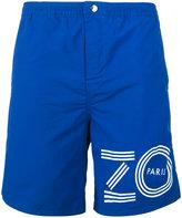 Kenzo logo print swim shorts - men - Nylon/Polyester - XS