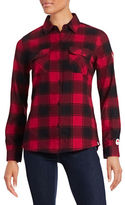 Canadian Olympic Team Collection Womens Flannel Shirt