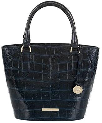 Brahmin Small Bowie Veil Crossbody (Bluebonnet) Handbags