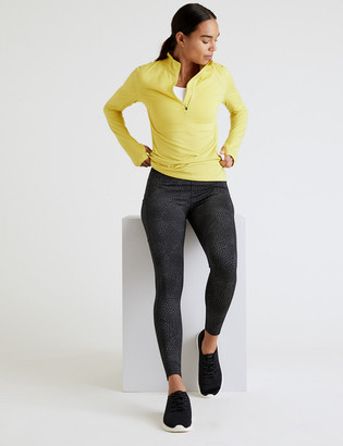 Marks and Spencer Go Move Printed Reflective Gym Leggings