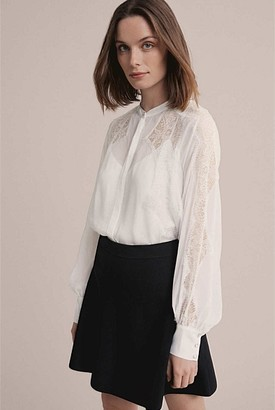 Witchery Lace Shirt