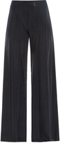 Raquel Allegra Striped Palazzo Trousers