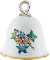 Herend Queen Victoria Bell w/ Tags