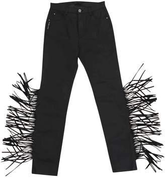 Frankie Morello Black Denim - Jeans Trousers for Women