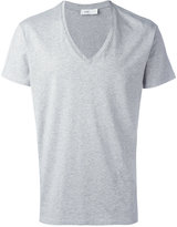 Closed V-neck T-shirt - men - Cotton - L