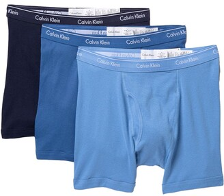 Calvin Klein Cotton Boxer Briefs - Pack of 3