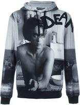 Dolce & Gabbana James Dean print hoodie - men - Cotton/Polyester - 48