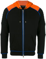 Balmain zip-up biker hoodie - men - Cotton - L