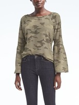 Banana Republic Bell-Sleeve Top