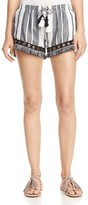 Misa Los Angeles Joplin Fringe-Hem Short