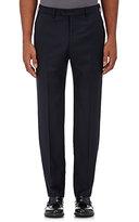 Giorgio Armani Men's Crepe Trousers-NAVY