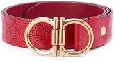 Salvatore Ferragamo double gancio buckle belt - men - Leather - 105