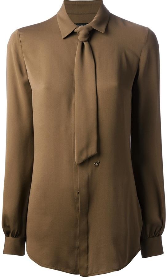 DSquared Dsquared2 tie detail blouse