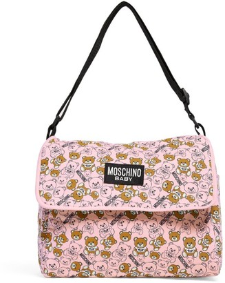 MOSCHINO BAMBINO Teddy Bear Print Changing Bag