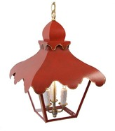 The Well Appointed House The Tole Tent Lantern-Available in Three Different Sizes and Six Different Colors