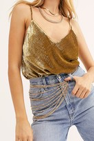 8 Other Reasons Blaze Chain Belt by at Free People, Gold, One Size
