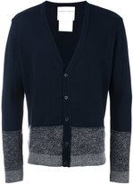 Stephan Schneider striped button down cardigan - men - Polyester/Wool/Alpaca - V