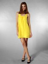 Silk Dress in Yellow