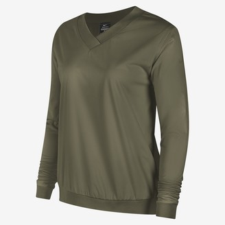 Nike Women's Long-Sleeve Golf Pullover Shield