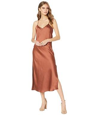 Bishop + Young Cowl Back Slip Dress (Copper) Women's Clothing