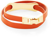 BCBGMAXAZRIA Leather Wrap Bracelet