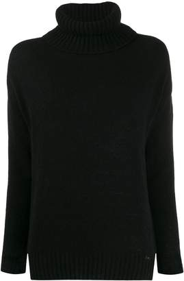 Fay roll-neck fitted sweater
