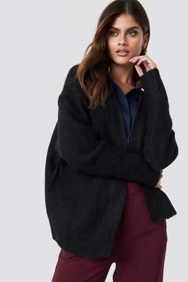 NA-KD Wool Blend Short Cardigan