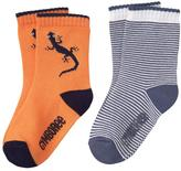 Gymboree Lizard & Stripe Socks