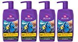 Aussie Finding Dory Coral Reef Cupcake 3 In 1 Shampoo + Conditioners & Body Wash 29.2 Fl Oz (Pack of 4)