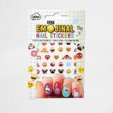 River Island Girls Emoji nail stickers