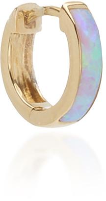 Pamela Love 14K Yellow Gold Opal Single Hoop Earring