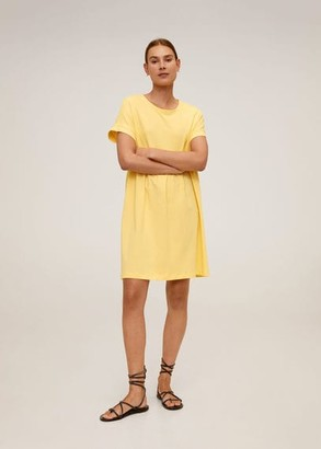 MANGO Organic cotton dress