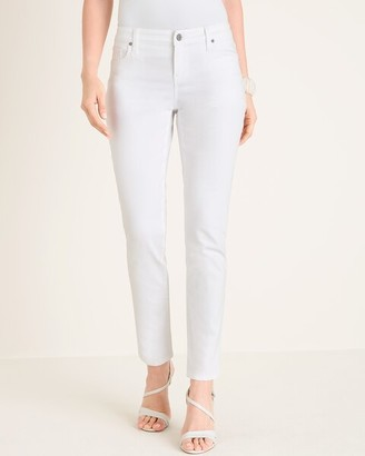 So Slimming Midrise Girlfriend Ankle Jeans
