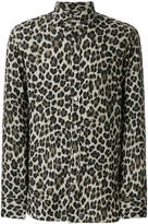 Tom Ford leopard print shirt