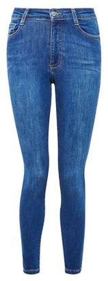 Dorothy Perkins Womens Petite Indigo Authentic 'Alex' Jeans