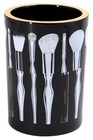 Sonia Kashuk The Vanity/Brush Cup -Black/White