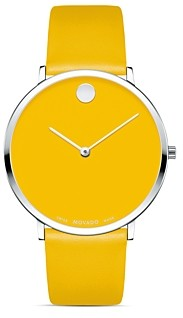 Movado Museum Dial Ultra Slim Watch, 40mm