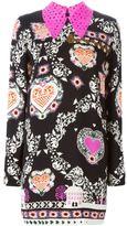 MSGM printed hearts dress