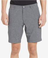 "Calvin Klein Men's 9"" Heathered Tech Shorts"