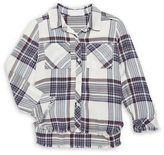 Bella Dahl Little Girl's & Girl's Plaid Shirt