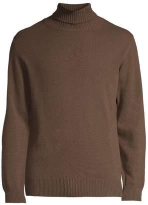 Eleventy Modern-Fit Cashmere Turtleneck Sweater