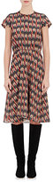 Etoile Isabel Marant Women's Harold Dress-RED, BLACK, ORANGE