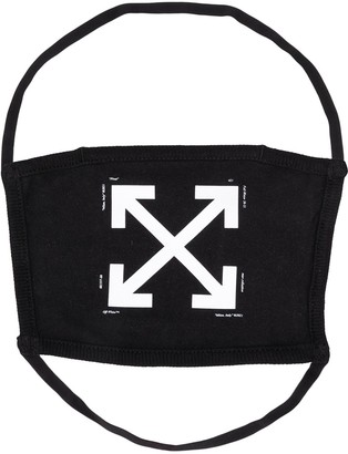 Off-White Arrows face mask