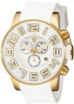 Swiss Legend Men's 30425-YG-02 Airbourne Analog Display Swiss Quartz White Watch